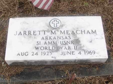 MEACHAM  (VETERAN  WWII), JARRETT M - White County, Arkansas   JARRETT M MEACHAM  (VETERAN  WWII) - Arkansas Gravestone Photos