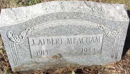 MEACHAM, J. ALBERT - White County, Arkansas | J. ALBERT MEACHAM - Arkansas Gravestone Photos
