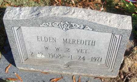 MEREDITH  (VETERAN WWII), ELDEN - White County, Arkansas | ELDEN MEREDITH  (VETERAN WWII) - Arkansas Gravestone Photos