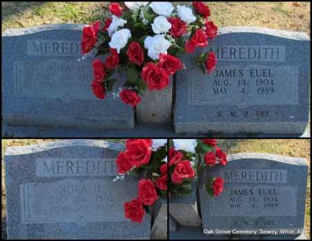 MEREDITH  (VETERAN WWII), JAMES EUEL - White County, Arkansas | JAMES EUEL MEREDITH  (VETERAN WWII) - Arkansas Gravestone Photos