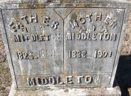 MIDDLETON, ELD. P.S. - White County, Arkansas | ELD. P.S. MIDDLETON - Arkansas Gravestone Photos