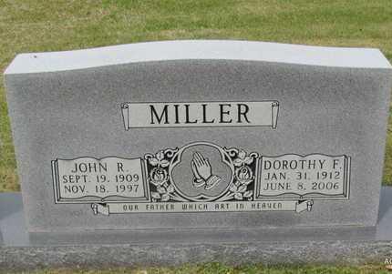 MILLER, JOHN R - White County, Arkansas | JOHN R MILLER - Arkansas Gravestone Photos