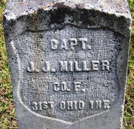 MILLER (VETERAN UNION), J J - White County, Arkansas | J J MILLER (VETERAN UNION) - Arkansas Gravestone Photos