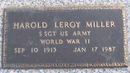 MILLER (VETERAN WWII), HAROLD LEROY - White County, Arkansas   HAROLD LEROY MILLER (VETERAN WWII) - Arkansas Gravestone Photos