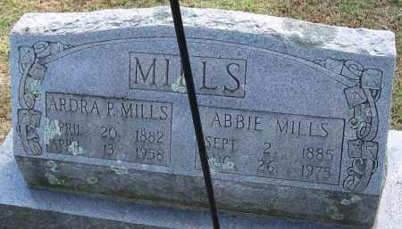 MILLS, ARDRA P - White County, Arkansas   ARDRA P MILLS - Arkansas Gravestone Photos