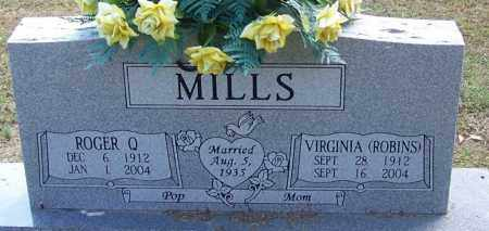 MILLS, VIRGINIA - White County, Arkansas | VIRGINIA MILLS - Arkansas Gravestone Photos