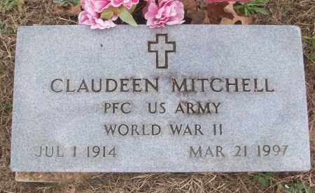 MITCHELL (VETERAN WWII), CLAUDEEN - White County, Arkansas | CLAUDEEN MITCHELL (VETERAN WWII) - Arkansas Gravestone Photos