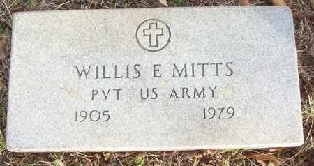 MITTS (VETERAN), WILLLIS E - White County, Arkansas   WILLLIS E MITTS (VETERAN) - Arkansas Gravestone Photos