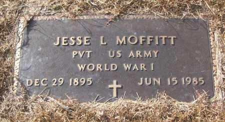 MOFFITT (VETERAN WWI), JESSE L - White County, Arkansas | JESSE L MOFFITT (VETERAN WWI) - Arkansas Gravestone Photos