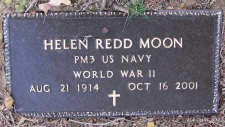 REDD MOON (VETERAN WWII), HELEN - White County, Arkansas | HELEN REDD MOON (VETERAN WWII) - Arkansas Gravestone Photos