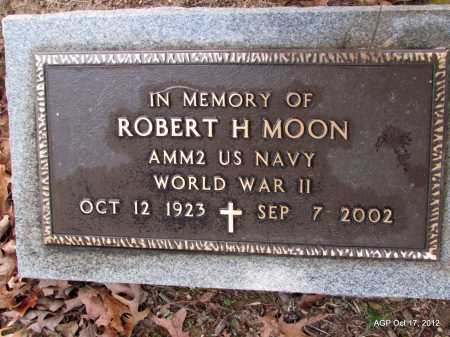 MOON  (VETERAN WWII), ROBERT H - White County, Arkansas | ROBERT H MOON  (VETERAN WWII) - Arkansas Gravestone Photos