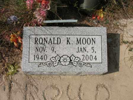 MOON, RONALD K - White County, Arkansas   RONALD K MOON - Arkansas Gravestone Photos