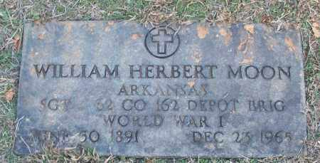 MOON (VETERAN WWI), WILLIAM HERBERT - White County, Arkansas   WILLIAM HERBERT MOON (VETERAN WWI) - Arkansas Gravestone Photos