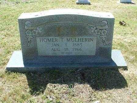 MULHERIN, HOMER T. - White County, Arkansas   HOMER T. MULHERIN - Arkansas Gravestone Photos