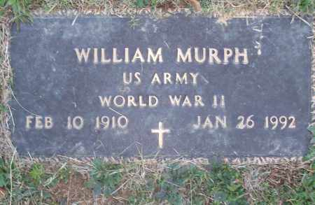 MURPH (VETERAN WWII), WILLIAM - White County, Arkansas | WILLIAM MURPH (VETERAN WWII) - Arkansas Gravestone Photos