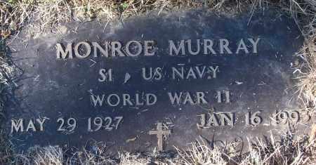MURRAY (VETERAN WWII), MONROE - White County, Arkansas   MONROE MURRAY (VETERAN WWII) - Arkansas Gravestone Photos