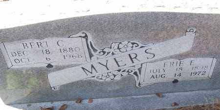 MYERS, BERT C. - White County, Arkansas   BERT C. MYERS - Arkansas Gravestone Photos