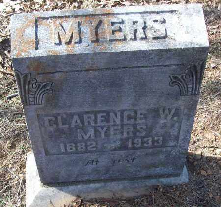 MYERS, CLARENCE W. - White County, Arkansas   CLARENCE W. MYERS - Arkansas Gravestone Photos