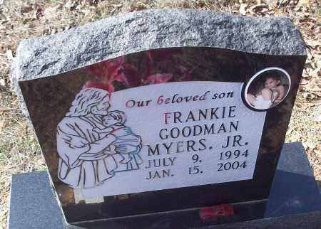 MYERS, FRANKIE GOODMAN JR. - White County, Arkansas   FRANKIE GOODMAN JR. MYERS - Arkansas Gravestone Photos