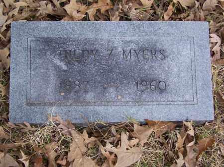 MYERS, HILDY Z. - White County, Arkansas | HILDY Z. MYERS - Arkansas Gravestone Photos