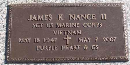 NANCE II (VETERAN VIET), JAMES K - White County, Arkansas   JAMES K NANCE II (VETERAN VIET) - Arkansas Gravestone Photos