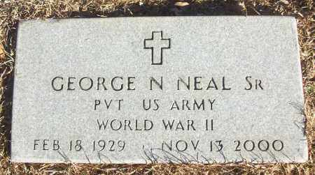 NEAL, SR (VETERAN WWII), GEORGE N - White County, Arkansas | GEORGE N NEAL, SR (VETERAN WWII) - Arkansas Gravestone Photos