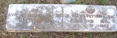 MCRAE NEELL, ANNE MILDRED - White County, Arkansas | ANNE MILDRED MCRAE NEELL - Arkansas Gravestone Photos