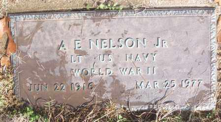 NELSON, JR (VETERAN WWII), A B - White County, Arkansas | A B NELSON, JR (VETERAN WWII) - Arkansas Gravestone Photos