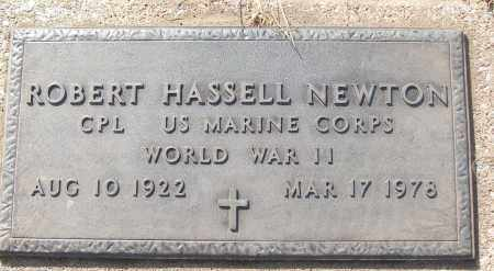 NEWTON (VETERAN WWII), ROBERT HASSELL - White County, Arkansas | ROBERT HASSELL NEWTON (VETERAN WWII) - Arkansas Gravestone Photos