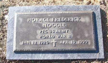 NOGGLE (VETERAN WWII), HORACE FREDERICK - White County, Arkansas | HORACE FREDERICK NOGGLE (VETERAN WWII) - Arkansas Gravestone Photos