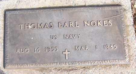 NOKES (VETERAN), THOMAS EARL - White County, Arkansas | THOMAS EARL NOKES (VETERAN) - Arkansas Gravestone Photos