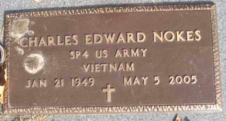 NOKES (VETERAN VIET), CHARLES EDWARD - White County, Arkansas | CHARLES EDWARD NOKES (VETERAN VIET) - Arkansas Gravestone Photos