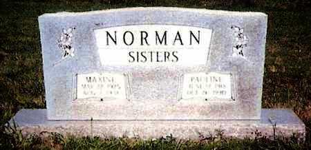 NORMAN, PAULINE - White County, Arkansas   PAULINE NORMAN - Arkansas Gravestone Photos
