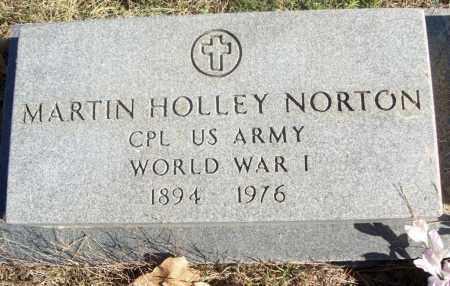 NORTON  (VETERAN WWII), MARTIN HOLLEY - White County, Arkansas   MARTIN HOLLEY NORTON  (VETERAN WWII) - Arkansas Gravestone Photos