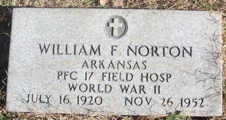 NORTON  (VETERAN WWII), WILLIAM FRANKLIN - White County, Arkansas   WILLIAM FRANKLIN NORTON  (VETERAN WWII) - Arkansas Gravestone Photos