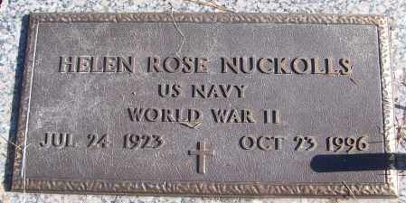NUCKOLLS (VETERAN WWII), HELEN ROSE - White County, Arkansas | HELEN ROSE NUCKOLLS (VETERAN WWII) - Arkansas Gravestone Photos