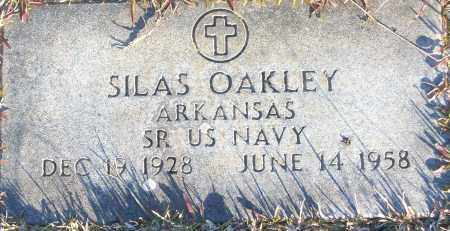 OAKLEY (VETERAN), SILAS - White County, Arkansas   SILAS OAKLEY (VETERAN) - Arkansas Gravestone Photos