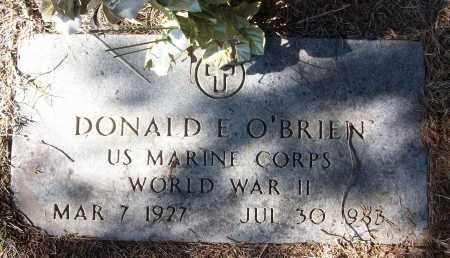 O'BRIEN (VETERAN WWII), DONALD E - White County, Arkansas | DONALD E O'BRIEN (VETERAN WWII) - Arkansas Gravestone Photos