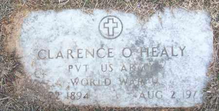 HEALY (VETERAN WWI), CLARENCE O - White County, Arkansas | CLARENCE O HEALY (VETERAN WWI) - Arkansas Gravestone Photos