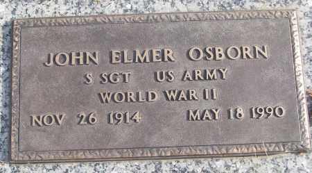 OSBORN (VETERAN WWII), JOHN ELMER - White County, Arkansas   JOHN ELMER OSBORN (VETERAN WWII) - Arkansas Gravestone Photos