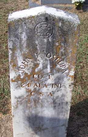 OSBURN (VETERAN CSA), JOHN R - White County, Arkansas   JOHN R OSBURN (VETERAN CSA) - Arkansas Gravestone Photos