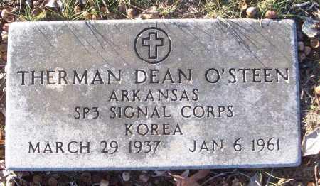 O'STEEN (VETERAN KOR), THERMAN DEAN - White County, Arkansas | THERMAN DEAN O'STEEN (VETERAN KOR) - Arkansas Gravestone Photos
