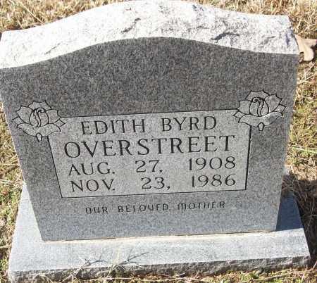 OVERSTREET, EDITH BYRD - White County, Arkansas | EDITH BYRD OVERSTREET - Arkansas Gravestone Photos