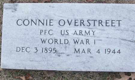 OVERSTREET (VETERAN WWI), CONNIE - White County, Arkansas | CONNIE OVERSTREET (VETERAN WWI) - Arkansas Gravestone Photos