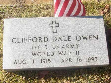OWEN  (VETERAN WWII), CLIFFORD DALE - White County, Arkansas   CLIFFORD DALE OWEN  (VETERAN WWII) - Arkansas Gravestone Photos