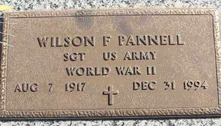 PANNELL (VETERAN WWII), WILSON F - White County, Arkansas | WILSON F PANNELL (VETERAN WWII) - Arkansas Gravestone Photos