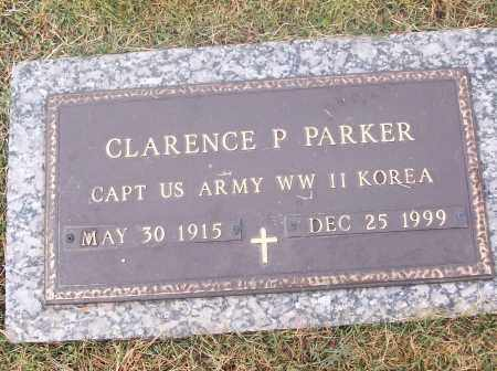 PARKER  (VETERAN 2 WARS), CLARENCE P - White County, Arkansas | CLARENCE P PARKER  (VETERAN 2 WARS) - Arkansas Gravestone Photos