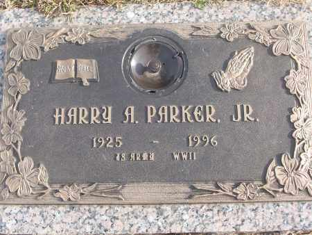 PARKER, JR (VETERAN WWII), HARRY A - White County, Arkansas   HARRY A PARKER, JR (VETERAN WWII) - Arkansas Gravestone Photos