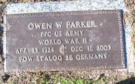 PARKER (VETERAN WWII, POW), OWEN W - White County, Arkansas | OWEN W PARKER (VETERAN WWII, POW) - Arkansas Gravestone Photos