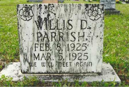 PARRISH, WILLIS D - White County, Arkansas | WILLIS D PARRISH - Arkansas Gravestone Photos